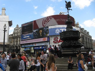 Piccadilly Circus em Londres