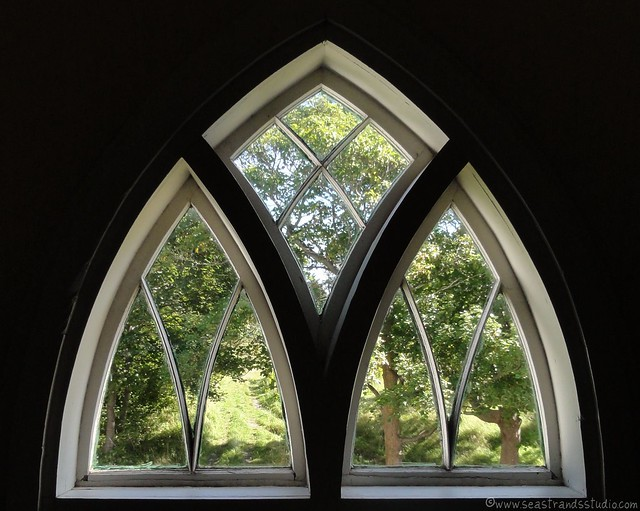 Upstairs window