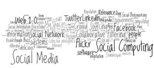 social media, social networking, social computing tag cloud (#5)