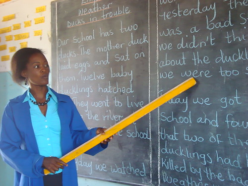 Five well-trained and motivated teachers helping children reach their potential
