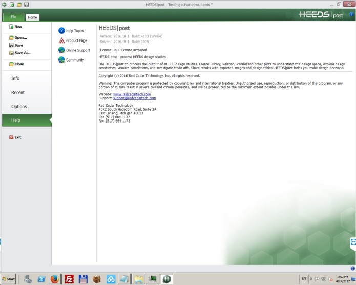 Working with HEEDS MDO 2016.10.1 + VCollab 2015 Win-Linux x32-64 full