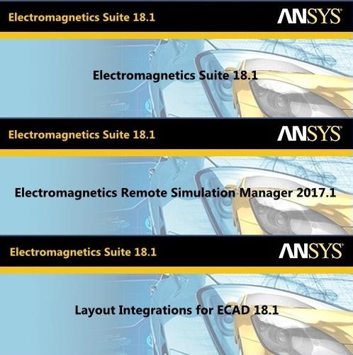 ANSYS Electronics 18.1 Suite 64bit