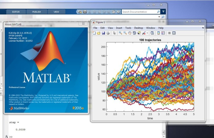 Simulation with Mathworks Matlab R2015a full