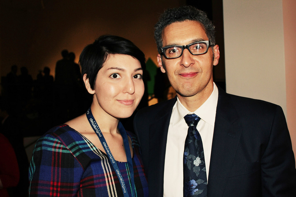 Angela Walley and John Turturro