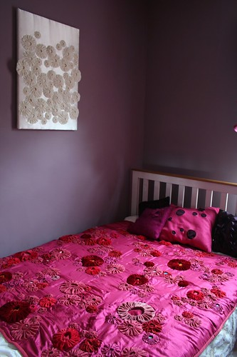 bedroom and pink quilt.JPG