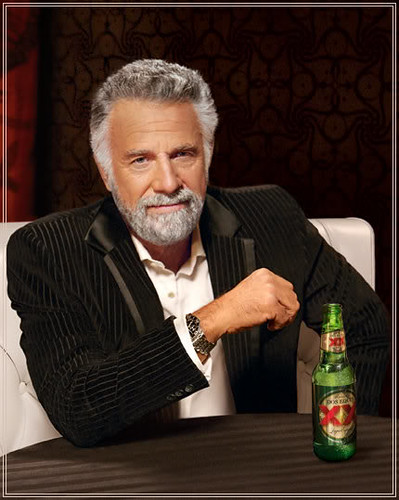 The Dos Equis Man is now officially scared of Maurice Gamanho