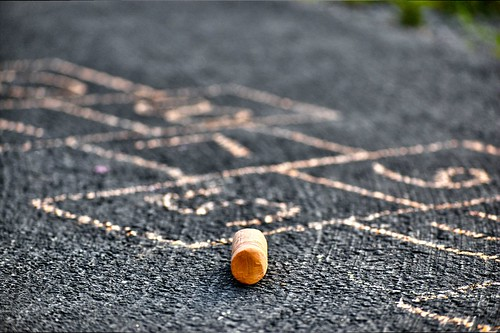 Orange Hopscotch - (CC BY-NC-ND 2.0) Some rights reserved by mkw87