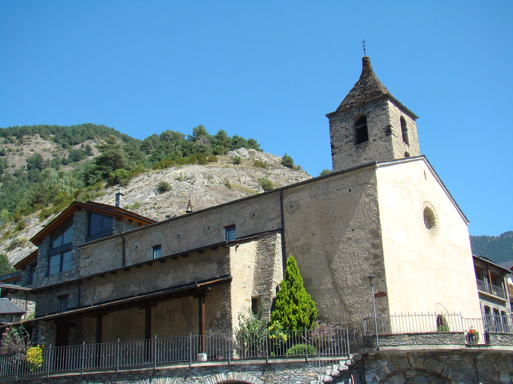 Ordino Iglesia de San Cornelio y San Cipriano Andorra 06