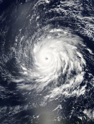 NASA Satellite Captures Hurricane Igor