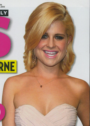 Kelly Osbourne sports SU2C Arrow Necklace on cover of Us Weekly