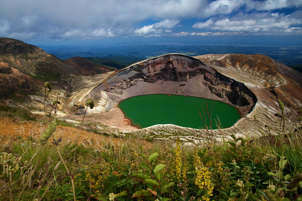 Mt. Zao's Crater Lake