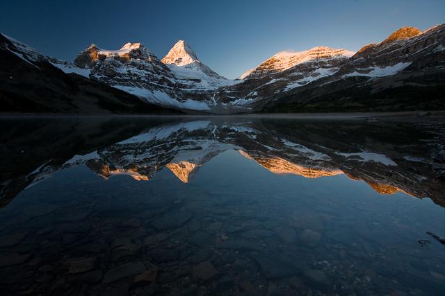 Magog Lake Sunrise