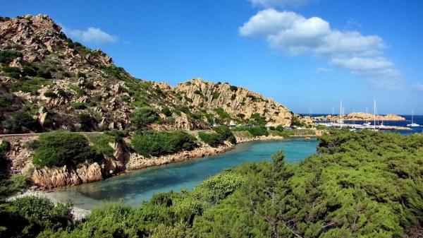 Острова Ла Маддалена La Maddalena Италия Море Пляжи