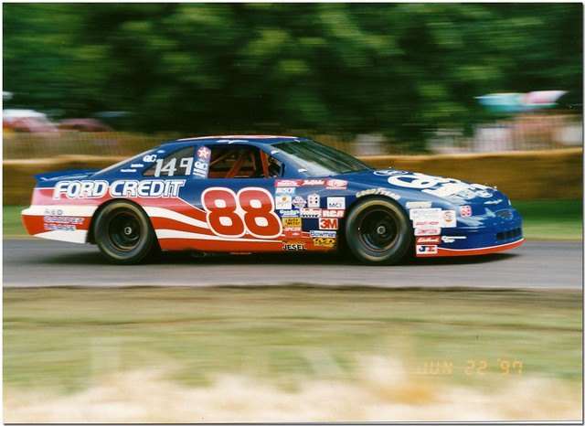 1996 Ford Thunderbird NASCAR. Goodwood Festival Of Speed 1
