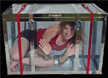 round water torture tank