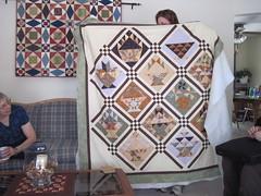 Lisa's basket quilt