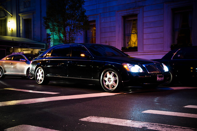 Maybach 62 Night