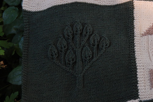 Cabled Tree Close Up
