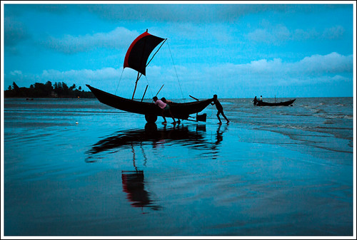 Return of the warriors [..Kuakata, Bangladesh..]