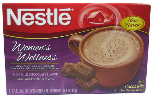 Nestle Women's Wellness Hot Cocoa Mix