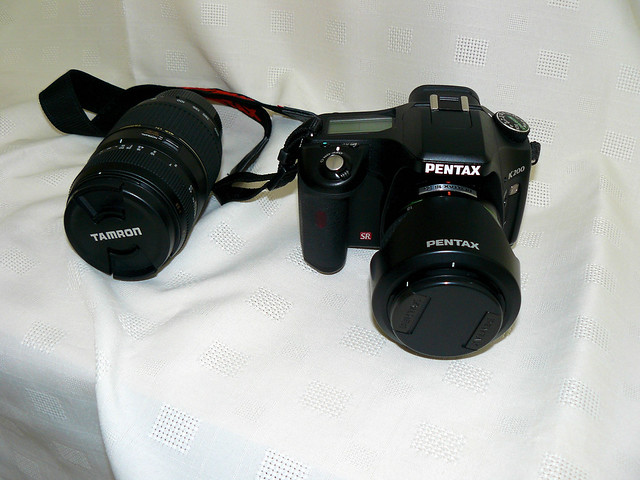 Pentax K200D and Tamron 70 - 300 mm Macro Zoom