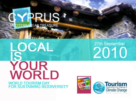 World toursim day cyprus