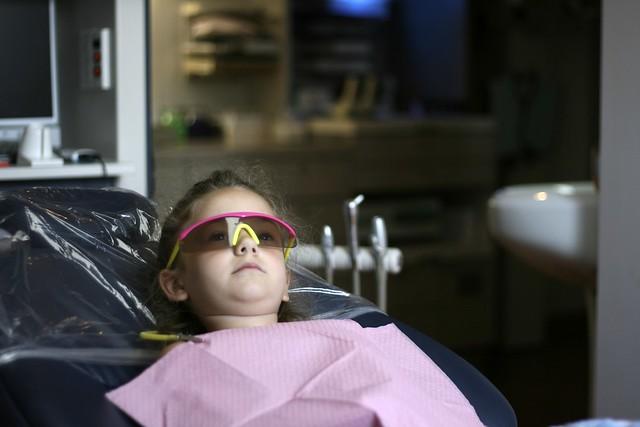 she loves the dentist