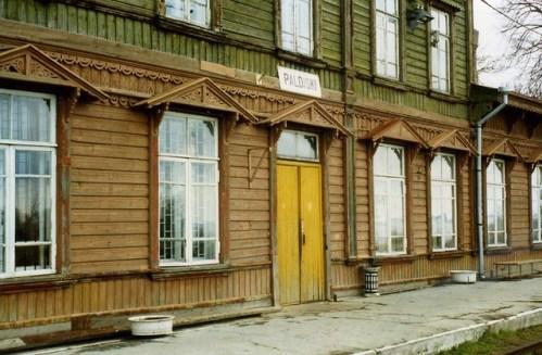 Paldiski, Estonia Railway station