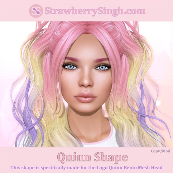 StrawberrySingh.com Quinn Shape