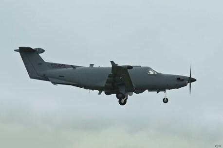 Pilatus U-28A (PC-12) BQN Airport PR