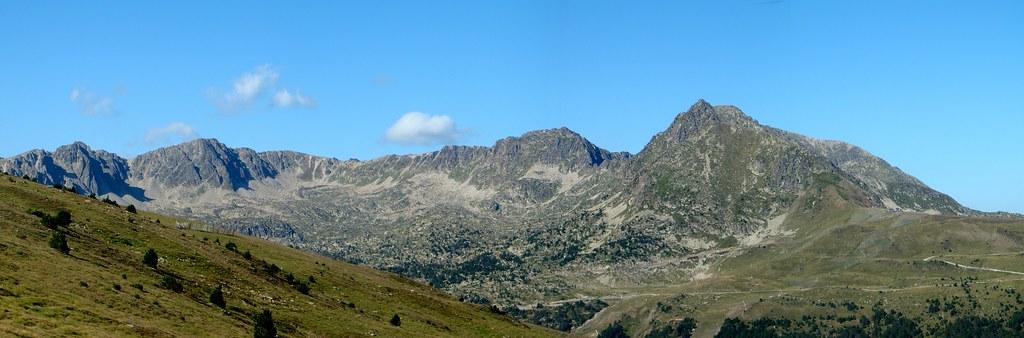 Andorra senderismo desde Puerto de Envalira a El Tarter 01