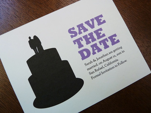 Printable Save the Date - Silhouette
