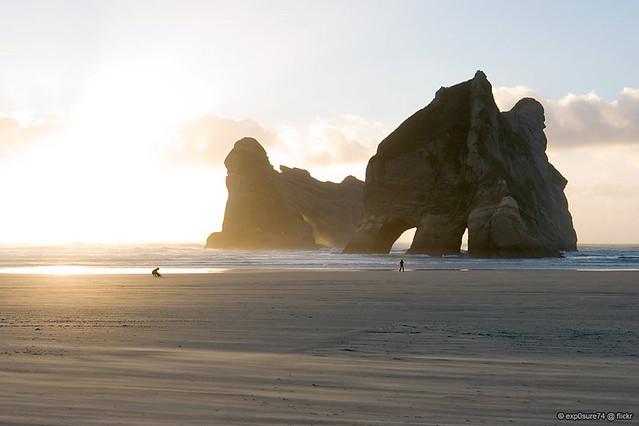 Wharariki Beach  von exp0sure74