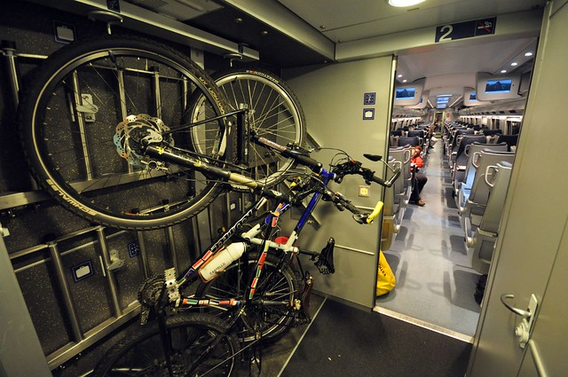 Bike transport on Eurostar