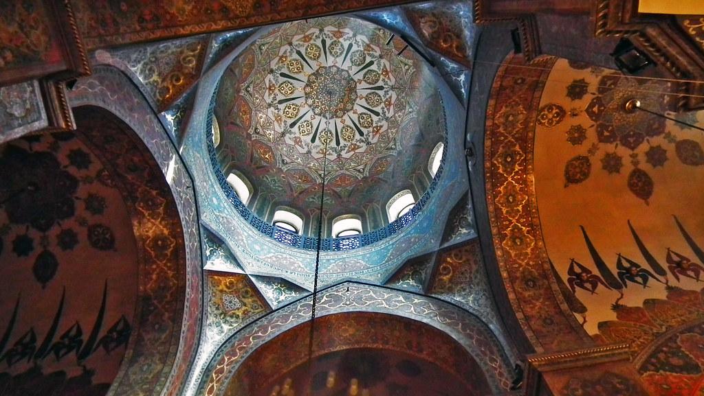 cupula interior de Catedral de Echmiadzin Armenia  Patrimonio de la Humanidad Unesco 08