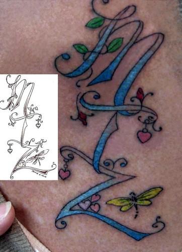 MTZ Tattoo Design by Denise A. Wells