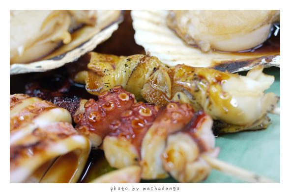 章魚腳跟つぶ貝