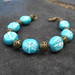 The Vintage Turquoise Dragonfly Bracelet