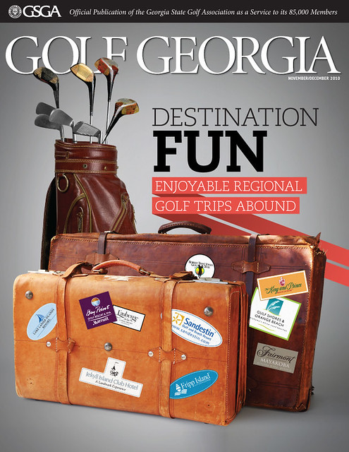 Golf Georgia Editorial/Magazine Design