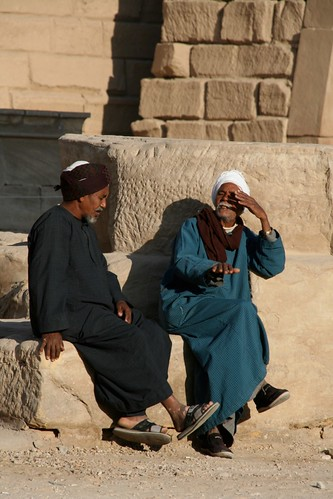 trading stories, Carnak temple