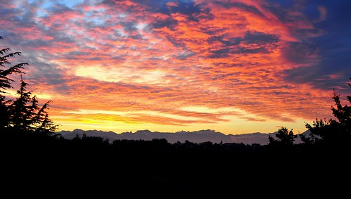 Ciel d'un matin d'automne