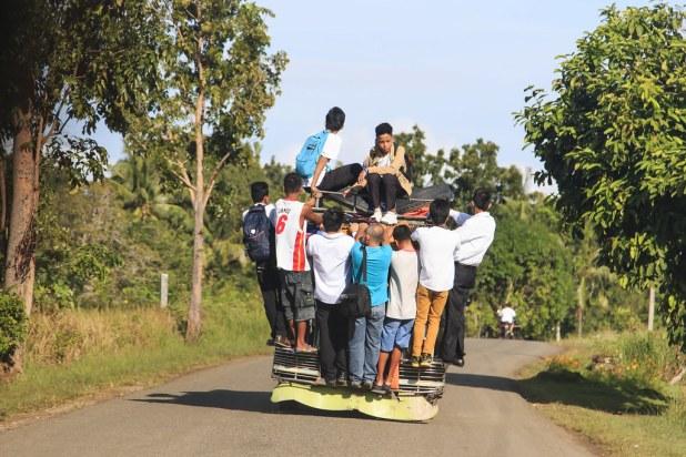 Jeepney en Bohol