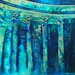 Watery Hollow | Mixed Media Painting