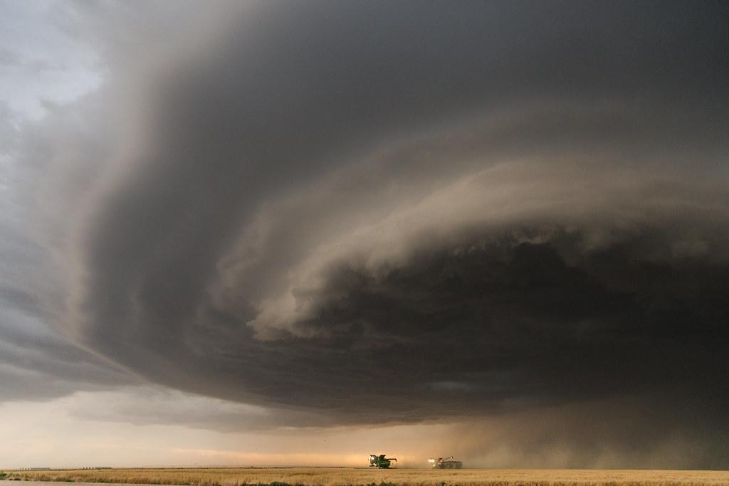 High Plains Harvesting (Photo Credit: Laura)