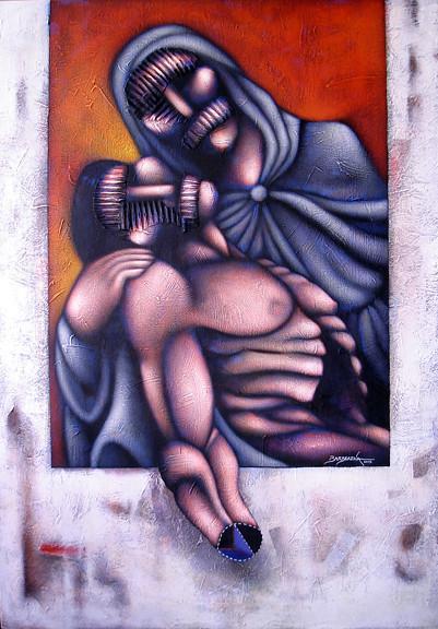 Madre con Hijo.
