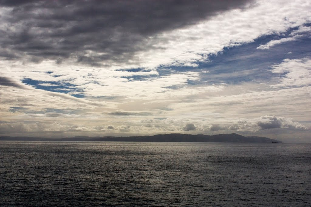 North Island from Ferry