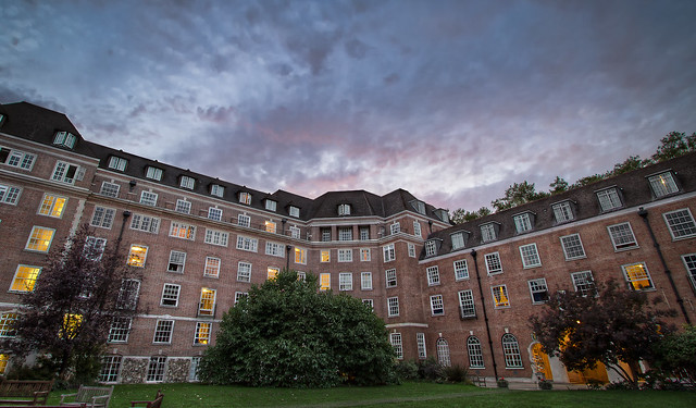 Sunset at Goodenough College