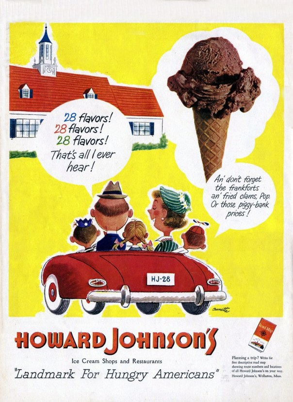 Howard Johnson's - published in Life - July 2, 1951