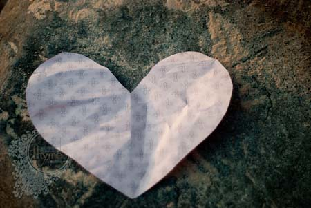 paper heart {what shall I do with you?}