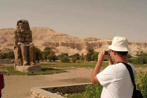 Egito - Colosso de Memnon